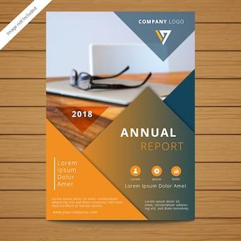 Modèle de brochure de l'entreprise