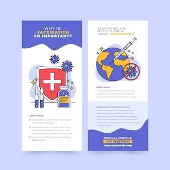 Modèle de brochure informative sur la vaccination contre le coronavirus