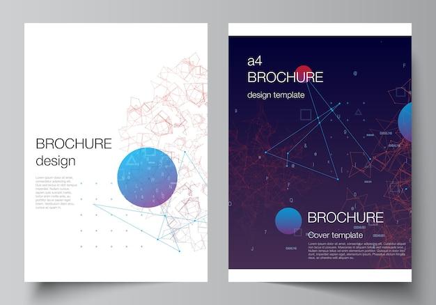 Modèle de brochure professionnelle de technologie