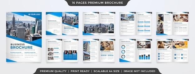 Modèle de brochure propre