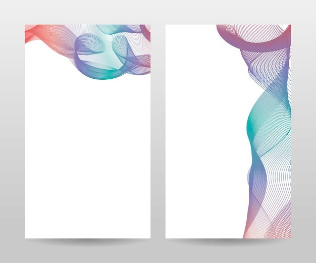 Modèle de brochure, rapport annuel, magazine, affiche, présentation d'entreprise, portefeuille, dépliant, mise en page moderne avec couleur bleue, recto et verso, facile à utiliser et à modifier.