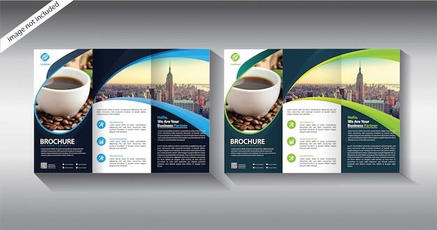 Modèle de brochure à trois volets