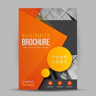 Modèle de brochure de vecteur créatif