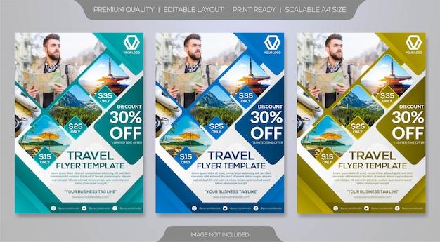 Modèle de brochure de voyage
