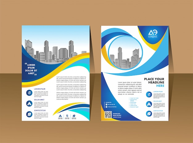 Modèle de brochure