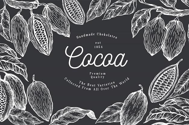 Modèle de cacao.