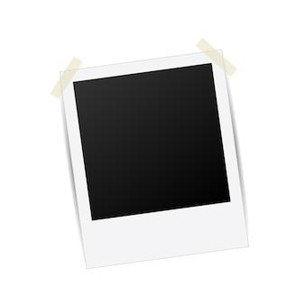 Modèle de cadre photo créatif, photoframe.