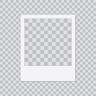 Modèle de cadre photo créatif