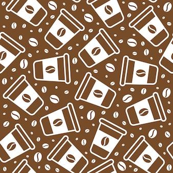 Modèle de café sans soudure