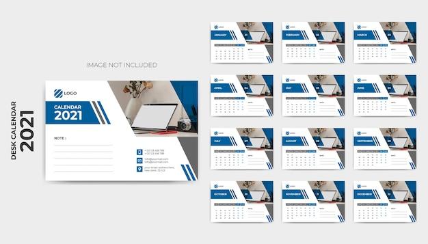 Modèle de calendrier de bureau