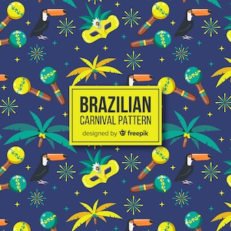 Modèle de carnaval brésilien