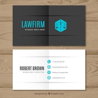 Modèle de carte d'avocat