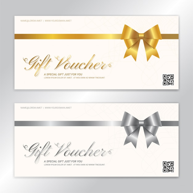 Modèle de carte-cadeau ou de bon de caisse i