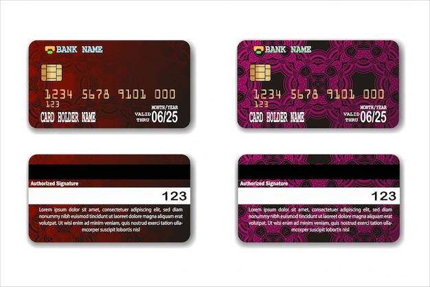 Modèle de carte de crédit