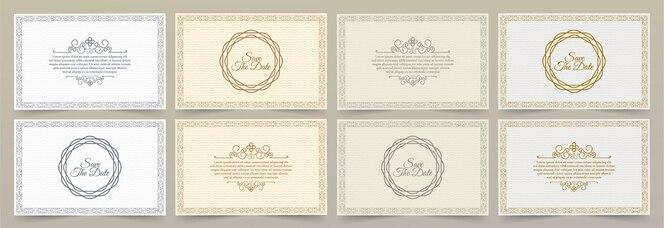 Modèle de carte d'invitation