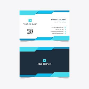 Modèle de carte de visite entreprise