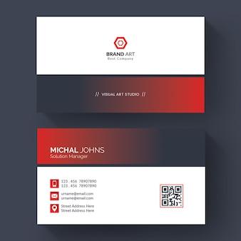Modèle de carte de visite pour les entreprises