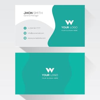 Modèle de carte de visite