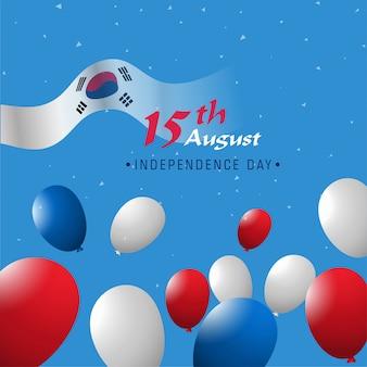Modèle de célébration de la fête de l'indépendance