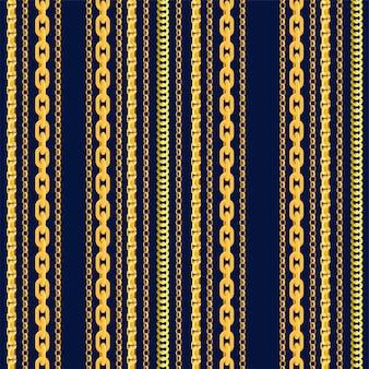 Modèle de chaîne sans couture