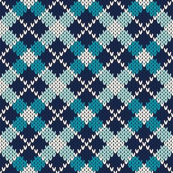 Modèle de chandail tricoté. fond transparent. imitation de texture en tricot de laine