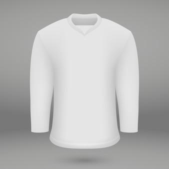 Modèle de chemise pour le maillot ice hoskey
