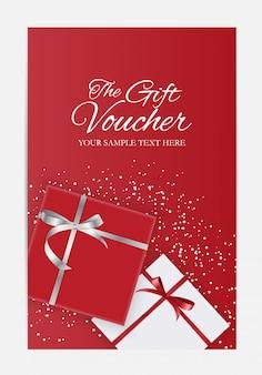 Modèle de chèque cadeau