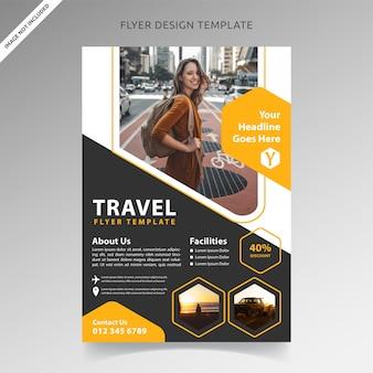 Modèle de circulaire de voyage et de vacances