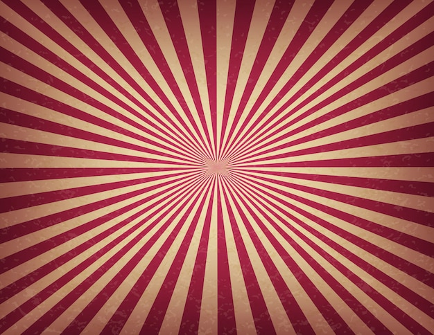 Modèle de cirque ou de carnaval de rayures tourbillonnantes. vieux fond de signe de cinéma rétro texture
