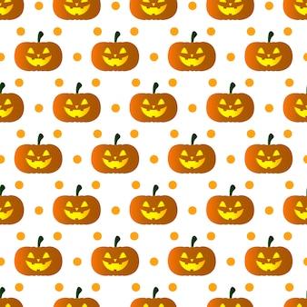 Modèle de citrouilles d'halloween