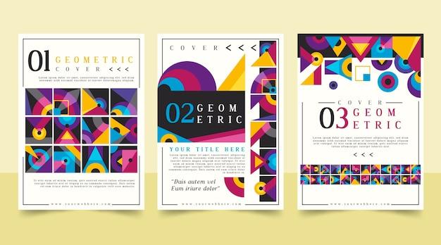 Modèle de collection de couverture d'entreprise