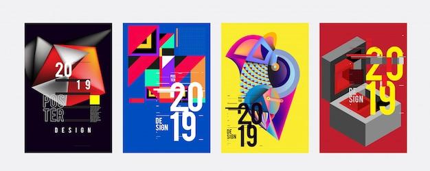 Modèle de conception d'affiche 2019
