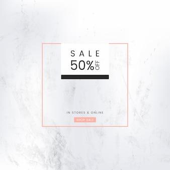 Modèle de conception d'affiches publicitaires de promotion de vente