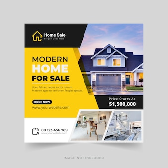 Modèle de conception de bannière web de médias sociaux d'agence de marketing numérique vecteur premium