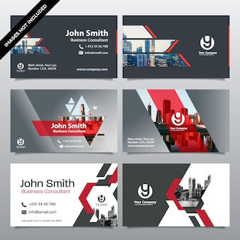 Modèle de conception de carte d'affaires de fond de ville. peut être adapté à brochure, rapport annuel, magazine, affiche, présentation d'entreprise, portefeuille, flyer, site web