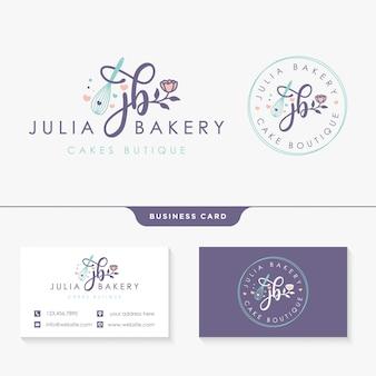 Modèle de conception de collections de logo féminin