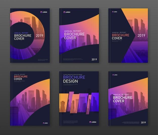 Modèle de conception de couverture d'entreprise pour les entreprises