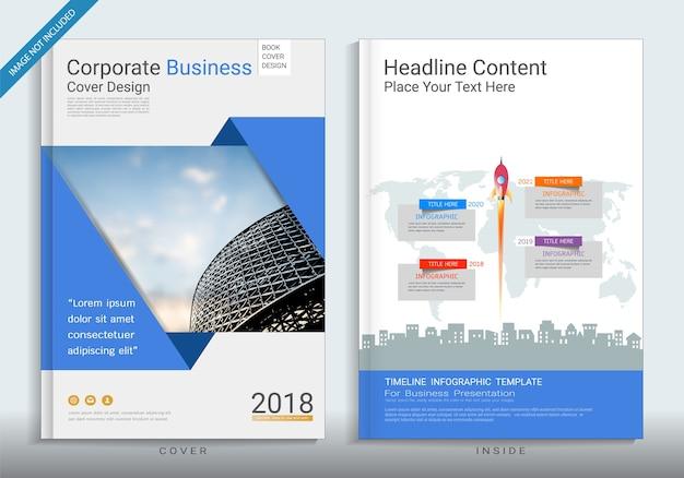 Modèle de conception de la couverture d'entreprise