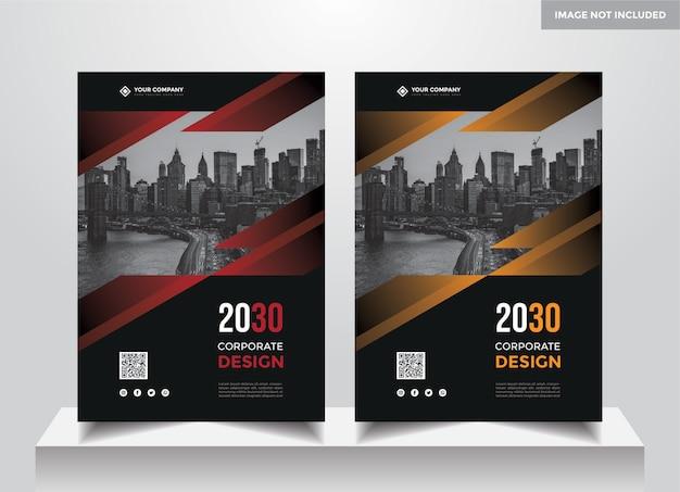 Modèle de conception de couverture d'entreprise