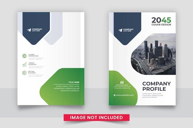 Modèle de conception de couverture de livre d'affaires
