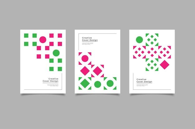 Modèle de conception de couverture minimalis