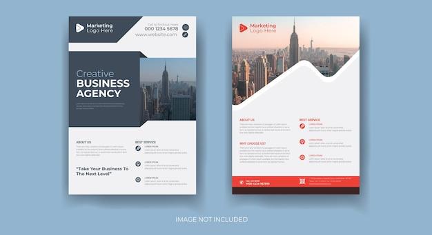 Modèle de conception de flyer d'entreprise