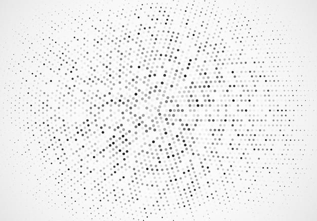 Modèle de conception de fond abstrait vectoriel argent, fond de demi-teintes