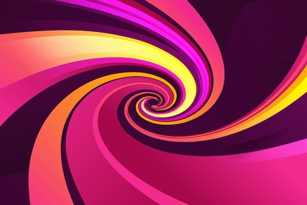 Modèle de conception de fond de style effet de forme arrondie dégradé coloré créatif dans un fichier vectoriel