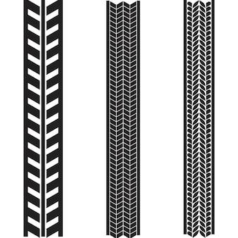 Modèle de conception d'illustration d'icône de vecteur de pneu