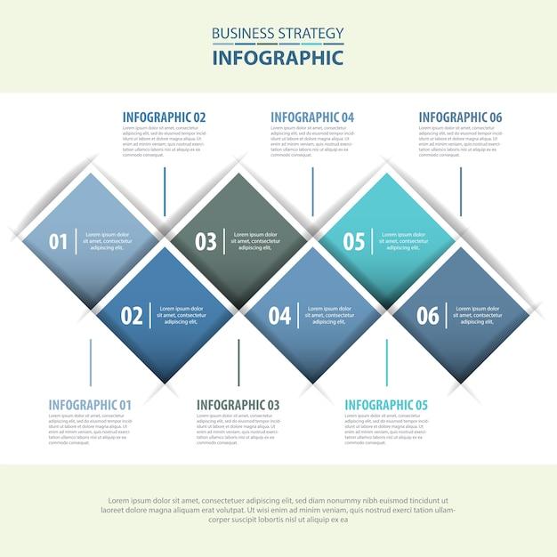 Modèle de conception infographie métier ton de couleur gris bleu