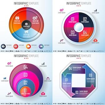 Modèle de conception d'infographies