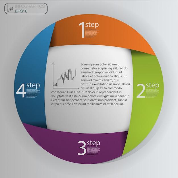 Modèle de conception infographique