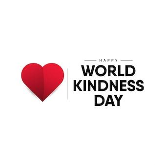 Modèle de conception de la journée mondiale de la gentillesse.