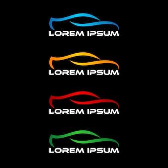 Modèle de conception de logo automobile